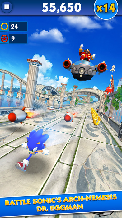 Download Sonic Dash App on your Windows XP/7/8/10 and MAC PC