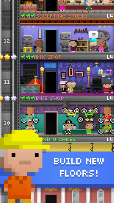 Download Tiny Tower - Free City Building App on your Windows XP/7/8/10 and MAC PC
