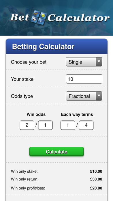 Download Betting Odds Tool App on your Windows XP/7/8/10 and MAC PC