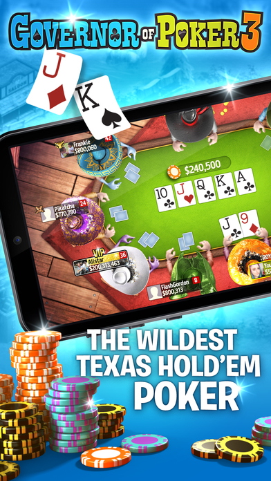 Download Governor of Poker 3 - Live Texas Holdem Poker Game App on your Windows XP/7/8/10 and MAC PC