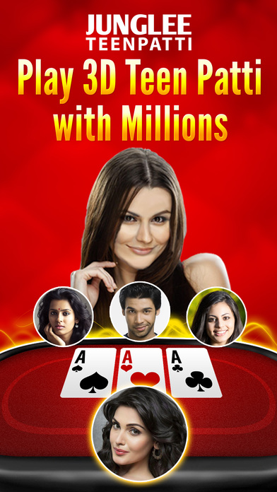Download Junglee Teen Patti 3D App on your Windows XP/7/8/10 and MAC PC