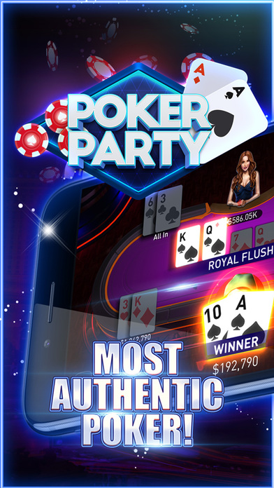 Download Poker Party - Texas Holdem Game App on your Windows XP/7/8/10 and MAC PC
