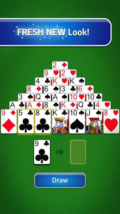 Download Pyramid Solitaire - Classic Card Game App on your Windows XP/7/8/10 and MAC PC
