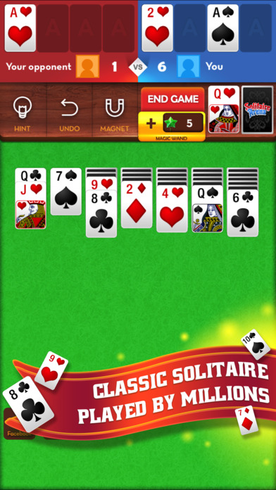 Download Solitaire Arena App on your Windows XP/7/8/10 and MAC PC