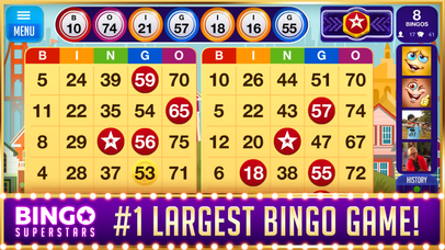 Download BINGO Superstars™ App on your Windows XP/7/8/10 and MAC PC