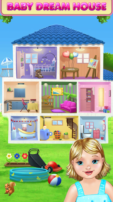 Download Baby Dream House - Care, Play and Party at Home! App on your Windows XP/7/8/10 and MAC PC