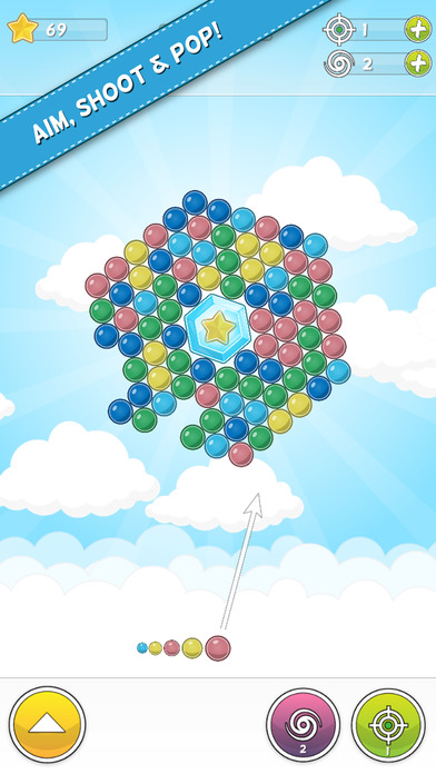 Download Bubble Cloud - Spinning Bubble Shooter App on your Windows XP/7/8/10 and MAC PC