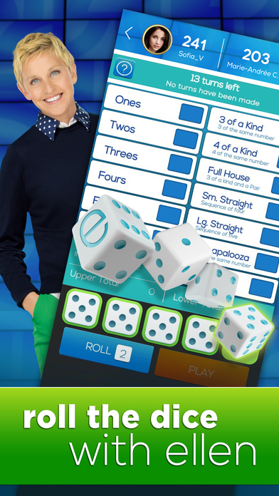 Download Dice with Ellen - A Fun New Dice Game! App on your Windows XP/7/8/10 and MAC PC