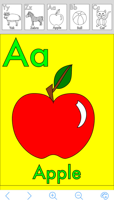 Download My Alphabet Coloring Book App on your Windows XP/7/8/10 and MAC PC