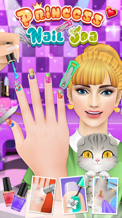 Download Nail Makeover - girls games App on your Windows XP/7/8/10 and MAC PC