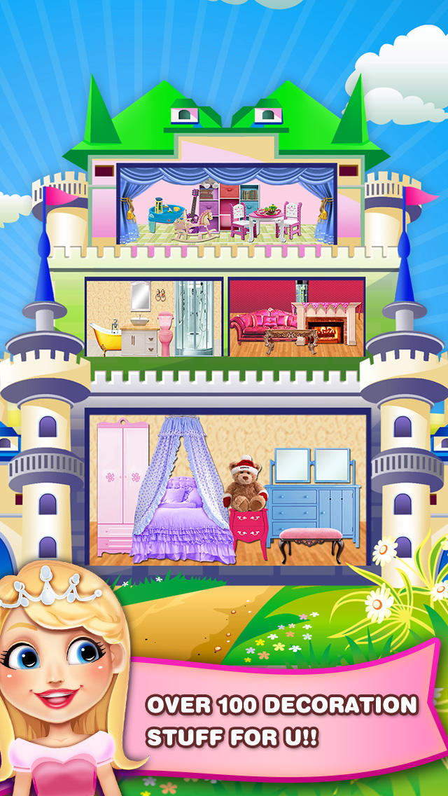 Download Princess Play House : beauty games! App on your Windows XP/7/8/10 and MAC PC