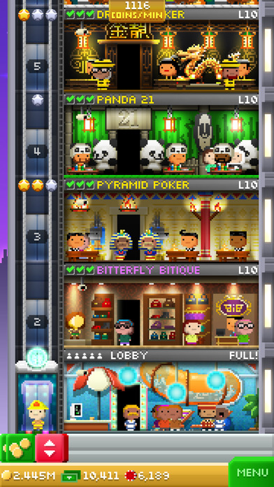 Download Tiny Tower Vegas App on your Windows XP/7/8/10 and MAC PC