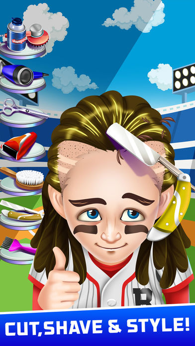 Download Athlete Shave Salon Games App on your Windows XP/7/8/10 and MAC PC