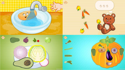 Download Funny Veggies! Games for children and babies App on your Windows XP/7/8/10 and MAC PC