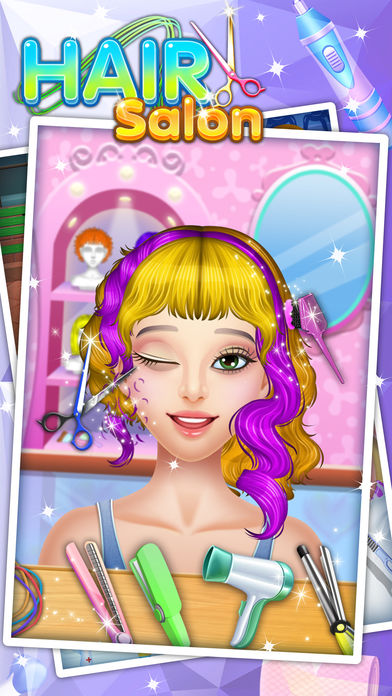 Download Hair Salon - Fun Kids games App on your Windows XP/7/8/10 and MAC PC