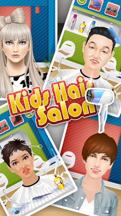 Download Kids Hair Salon - kids games App on your Windows XP/7/8/10 and MAC PC