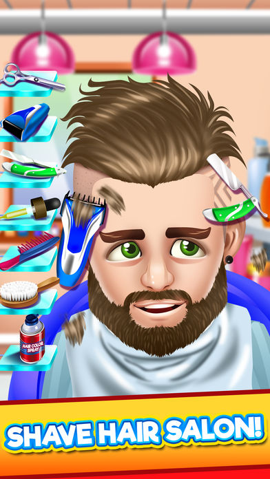Download Kids Hair Shave Salon Games App on your Windows XP/7/8/10 and MAC PC
